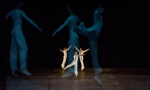 Lucinda Childs' work Dance at the Venice Biennale.