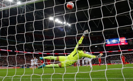 Wayne Rooney scores the penalty that made him England's highest ever goalscorer
