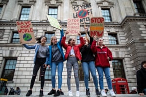 Thousands of pupils from schools, colleges and universities are walking out to take part in the second major strike against climate change this year