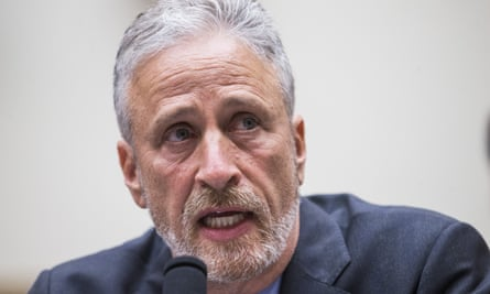 Jon Stewart testifies during a House Judiciary Committee hearing on 11 June 2019 in Washington DC.