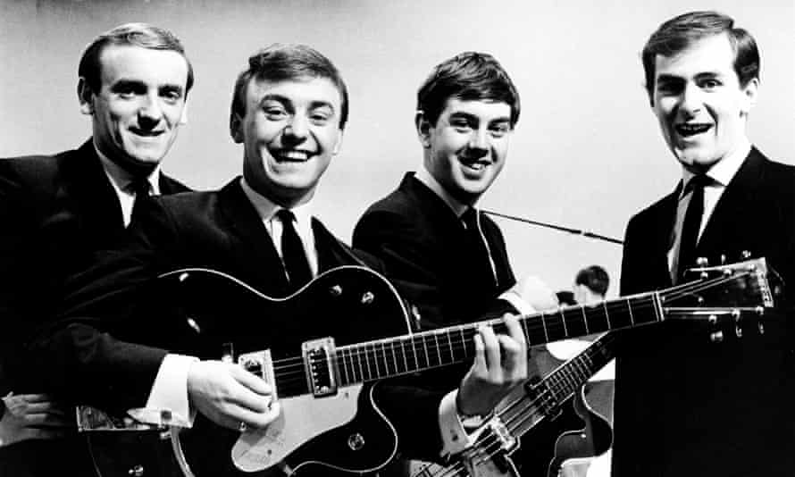 'Even the Beatles were wary of sounding this scouse' ... Gerry and the Pacemakers, with Marsden, front.