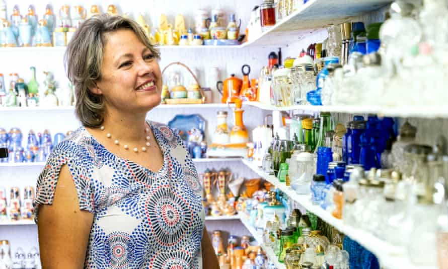 'This all started because Mom was trying to find a good pepper mill': Andrea Ludden of the Museum of Salt and Pepper Shakers.