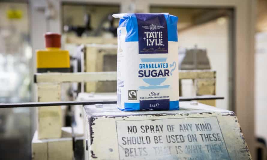 Tate & Lyle sugar, made from imported sugar cane.