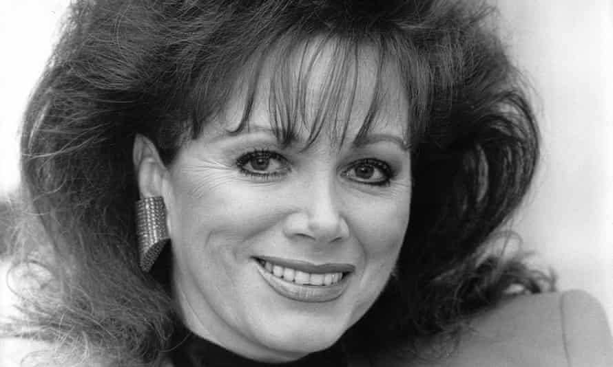 Jackie Collins, pictured in 1989.