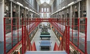 Inside Dartmoor prison