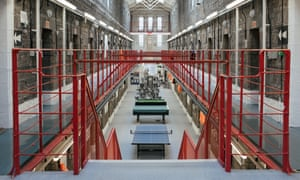 Interiors of one of the wings at Dartmoor prison