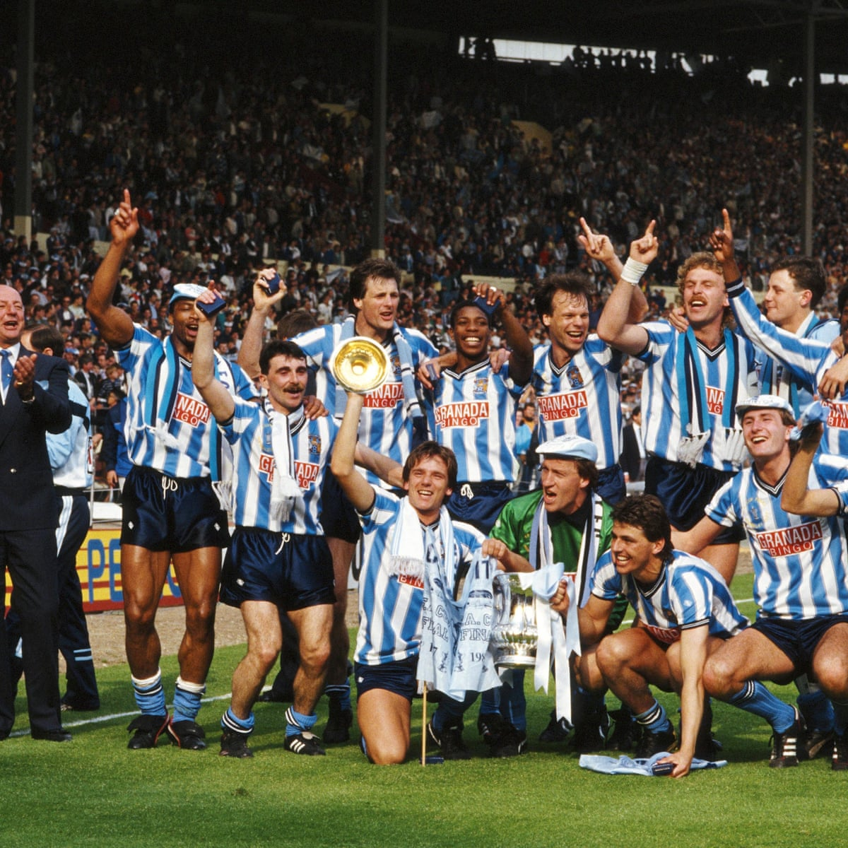 Coventry City 3 2 Tottenham Hotspur 1987 Fa Cup Final As It Happened Sport The Guardian