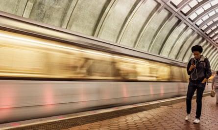 Metro station, Washington DC, May 2016