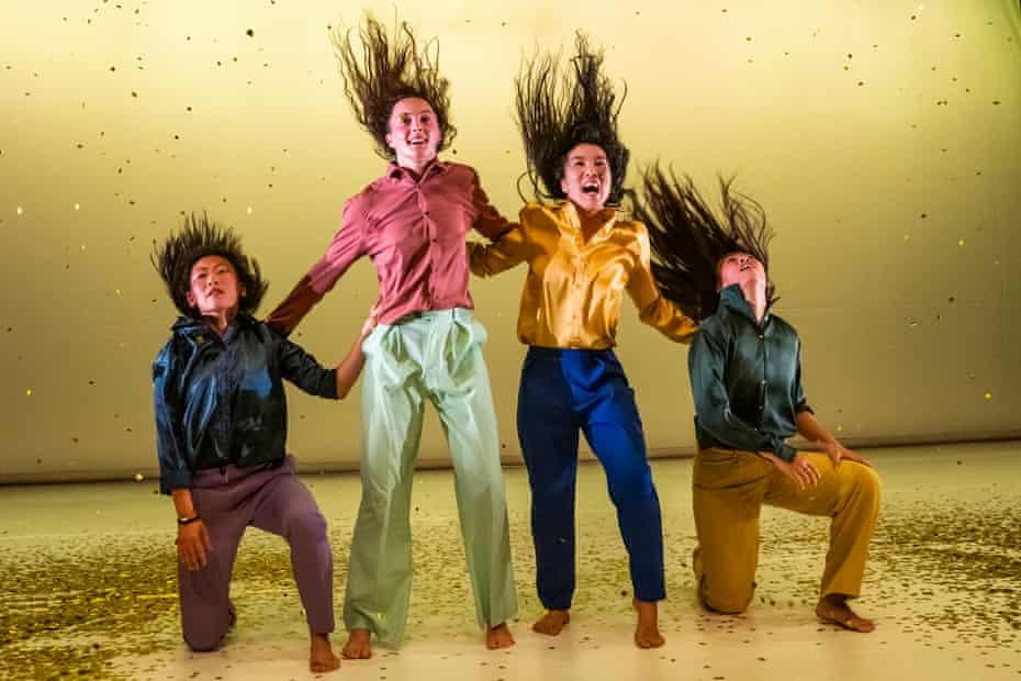 Bidding for freedom … Iris Chan, Martha Gardner, Sung Im Her and Yanki Yau in W.A.Y (Re-work).