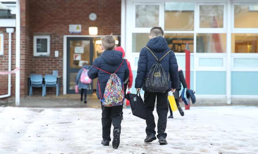 Pupils returning to school on Monday