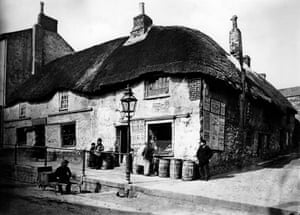 Langley Stores, Penzance in 1890