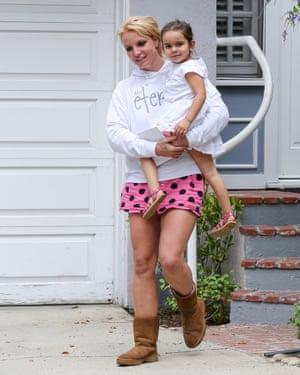 Best breakthrough: Britney Spears and Lexie's niece in 2015.
