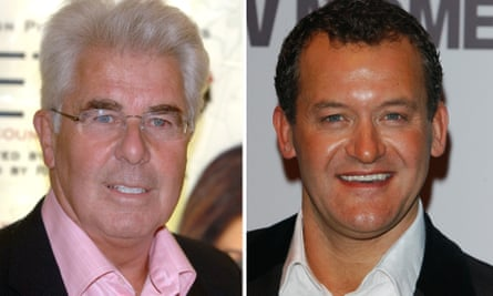 Paul Burrell, right, said he had hired Max Clifford, left, to help defend himself against allegations in the press