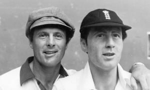 Geoff Boycott poses beside his wax double at Madame Tussauds in 1980
