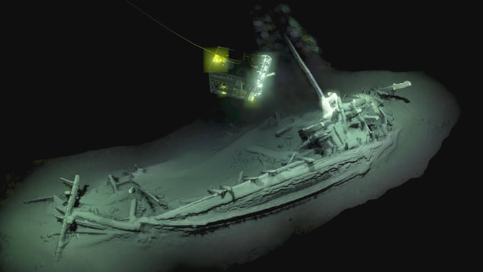 """Résultat de recherche d'images pour """"World's oldest intact shipwreck found in Black Sea"""""""