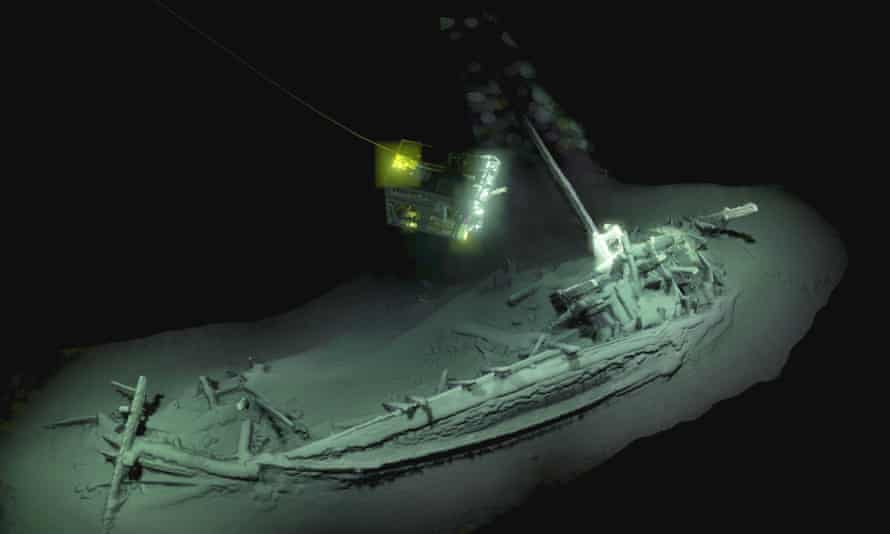 The world's oldest shipwreck dating from 400BC of ancient Greek origin, most likely a trading vessel.