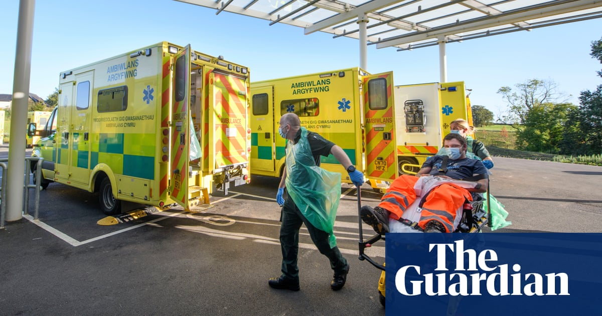 'You can queue for a whole shift': the crisis facing Welsh ambulance crews