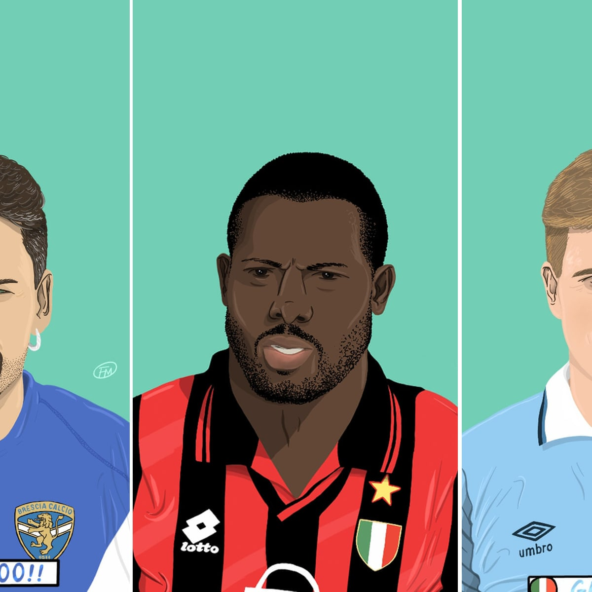 Golazos Galore The 25 Best Goals From The Golden Era Of Serie A Serie A The Guardian