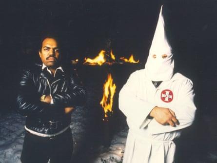 Daryl Davis and a KKK member.