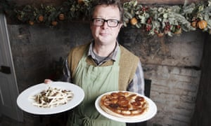 Hugh Fearnley-Whittingstall at River Cottage HQ in Axminster, Devon.