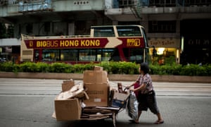 Hong Kong has the highest levels of income disparity in the developed world.
