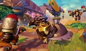 Another sensei character, King Pen, who can lend his powers to player created Skylanders