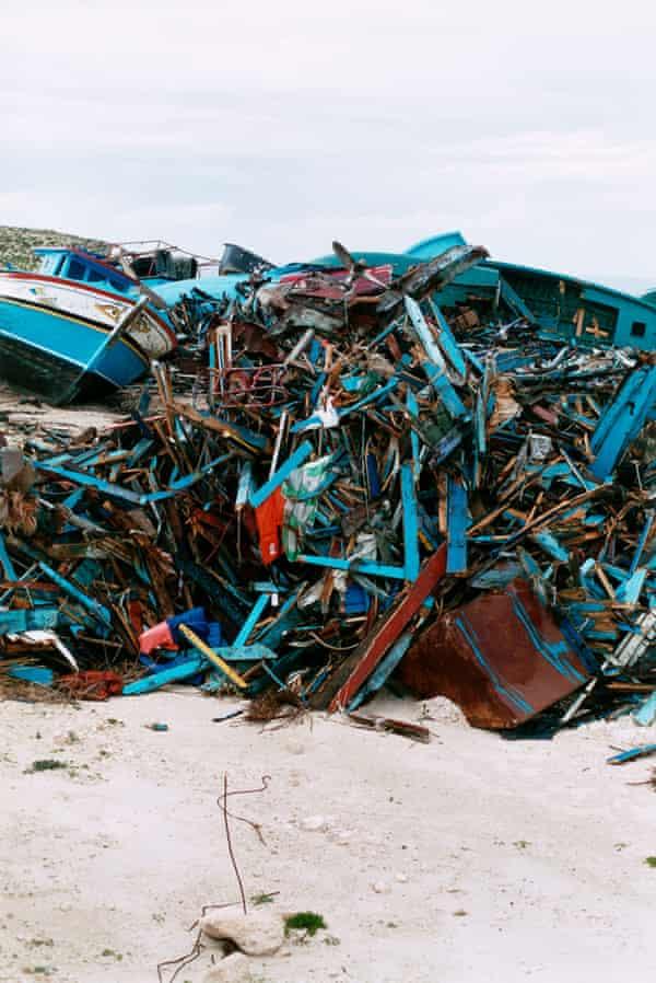 Lampedusa, 2008.
