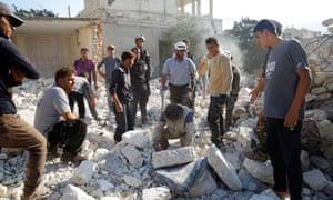 MSF hospital airstrike syria