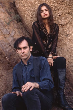 David Roback and Hope Sandoval of Mazzy Star.