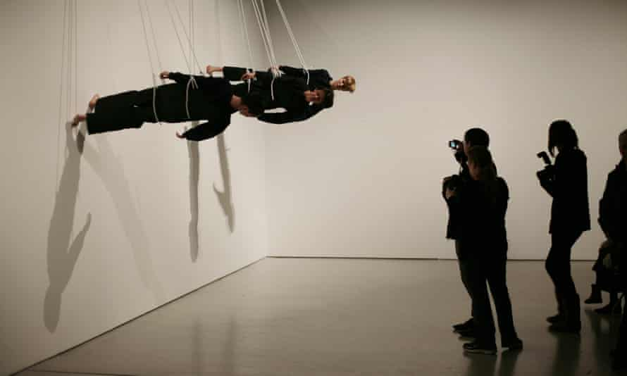 Walking on the Wall by Trisha Brown, 2011.