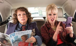 'Lumley has an imperishable hauteur and comedy-charisma. She is the garden bridge that stops this film from collapsing into the Thames' … Absolutely Fabulous: The Movie