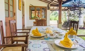 Dining Verandah, Ceylon Tea Bungalows, Sri Lanka