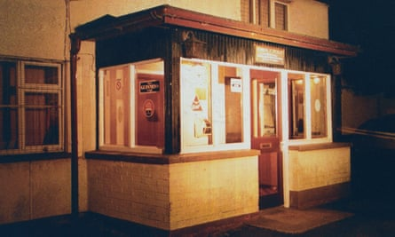 The Heights Bar in Loughinisland, County Down, the morning after the 1994 massacre