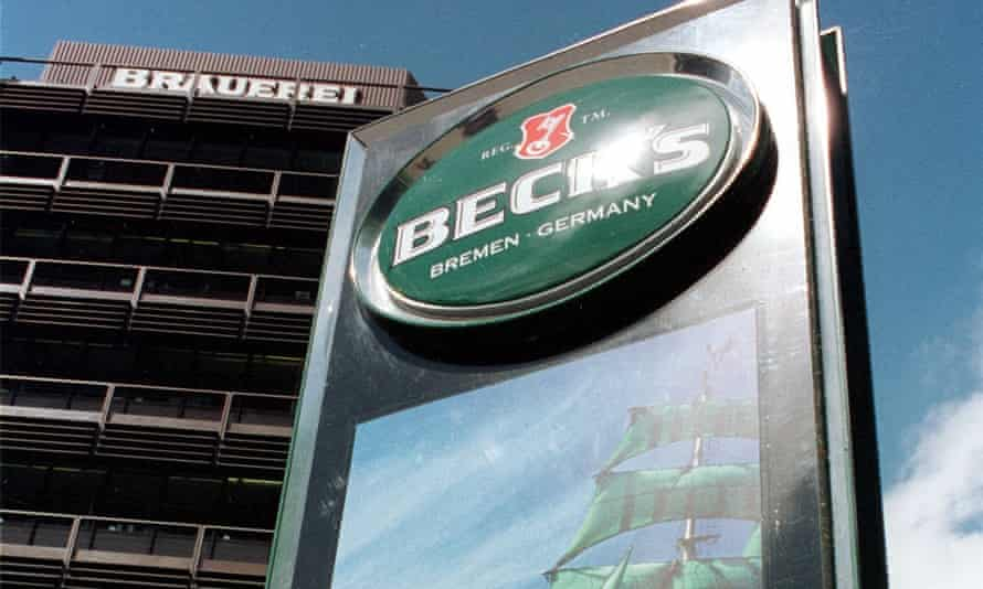 Beck's US beer packaging was misleading, a lawsuit said.