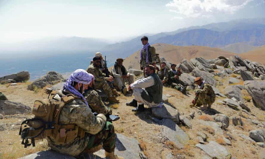 Afghanistan resistance fighters clash with Taliban in Panjshir valley | Afghanistan | The Guardian