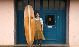 Otter wooden surfboards