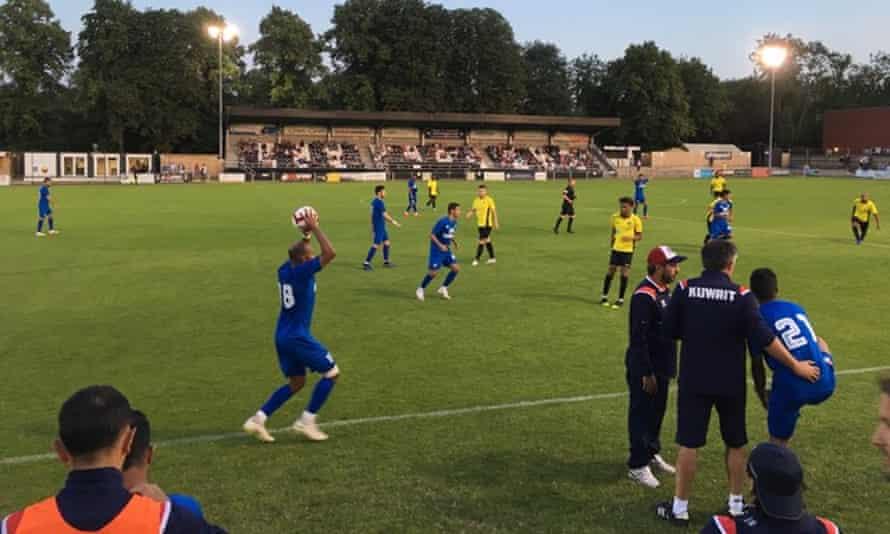 Maidenhead United v Kuwait
