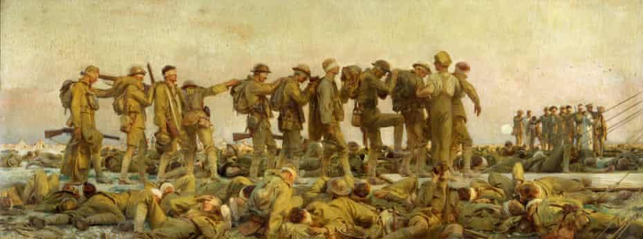 John Singer Sargent, Gassed, 1919.