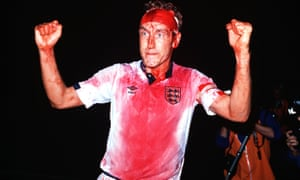 A bloodied Terry Butcher