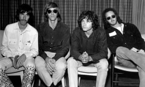 The Doors band in 1968