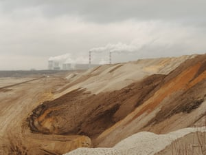 Bełchatów power plant and Bełchatów mine, Poland: The heavy, polluting lignite that fuels Europe's biggest coal plant needs to be mined close by, as transporting it is inefficient. Two mines feed Bełchatów; local residents have recently celebrated a victory in blocking a third, which would have displaced 3,000 people