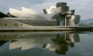 Transformative … the Guggenheim museum in Bilbao, Spain.