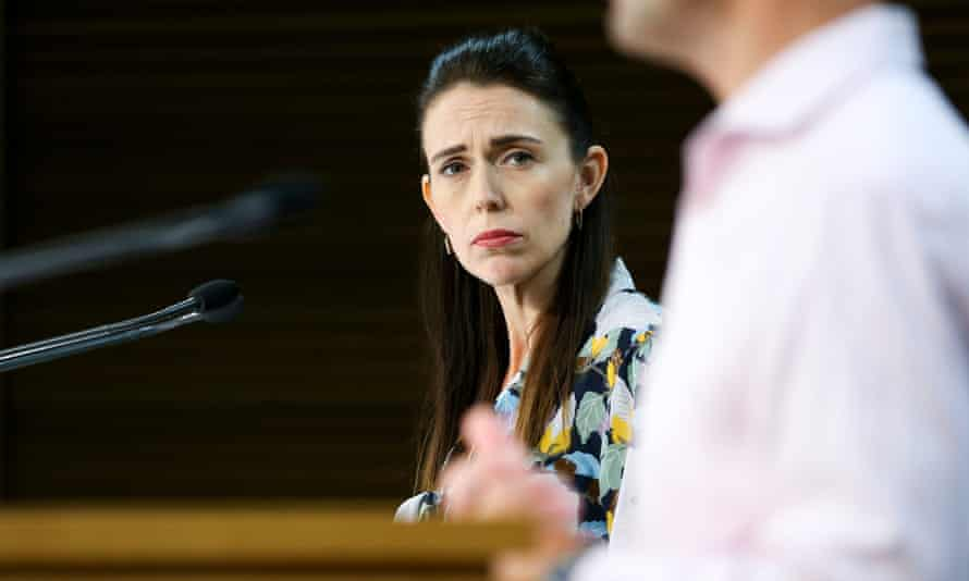 Prime Minister Jacinda Ardern gives a Covid-19 update as Auckland begins a seven-day lockdown on February 28 2021