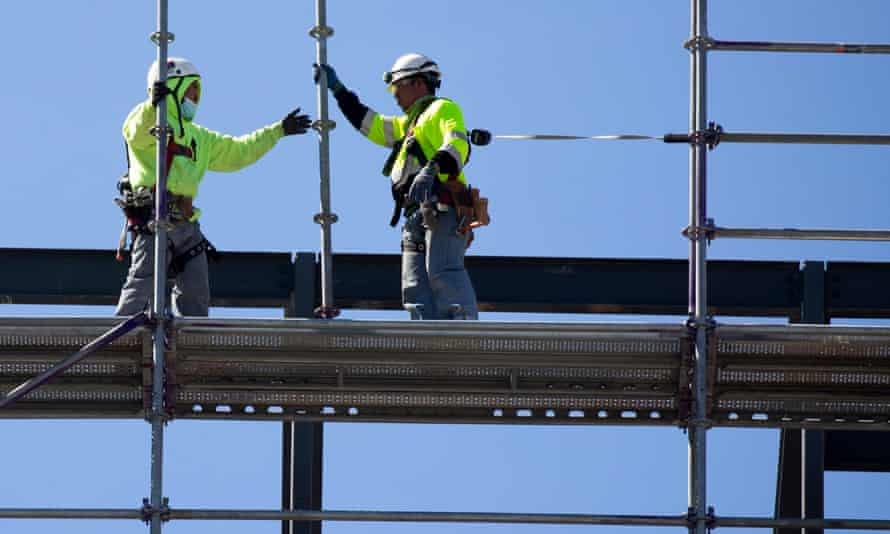 The construction industry hires formerly incarcerated workers, often at low pay and with no benefits.