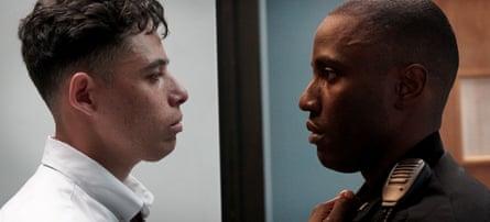 Anthony Ramos and John David Washington in Monsters and Men