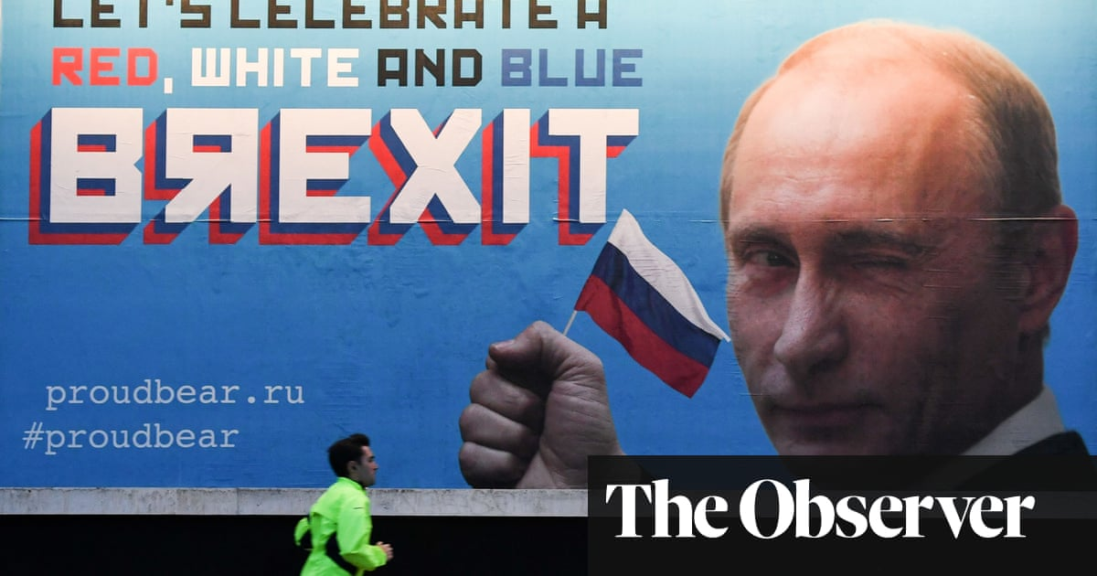 Russian meddling is at the heart of Brexit | Letters