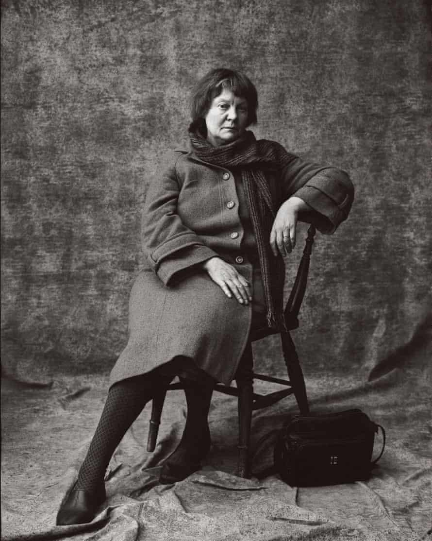 Rich textures … Snowdon's portrait of Iris Murdoch
