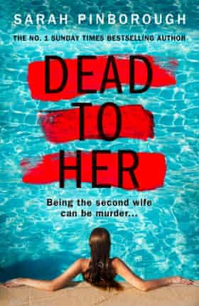 A woman immersed in water on the cover of Sarah Pinborough's novel Dead to Her.