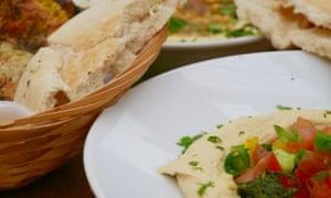 Hummus at Kanaan, Berlin