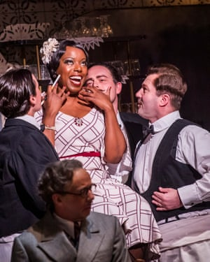 Fresh from Porgy and Bess success … Nadine Benjamin (centre) as Musetta.